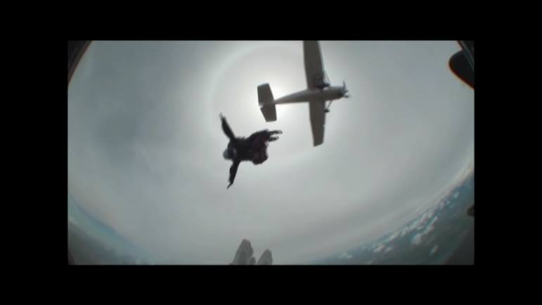 Tyler Jumping Out Of The Plane