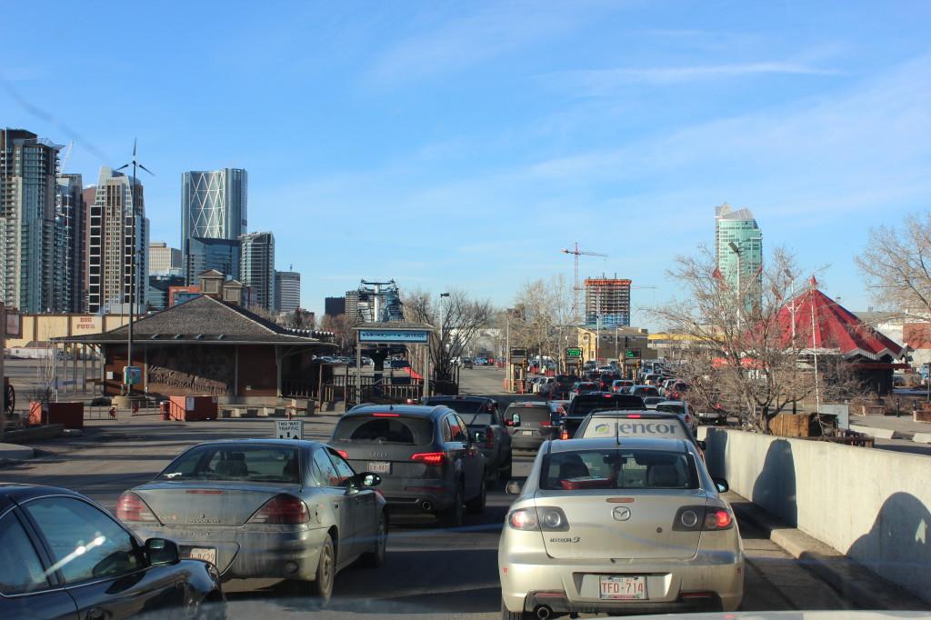 Traffic In Calgary