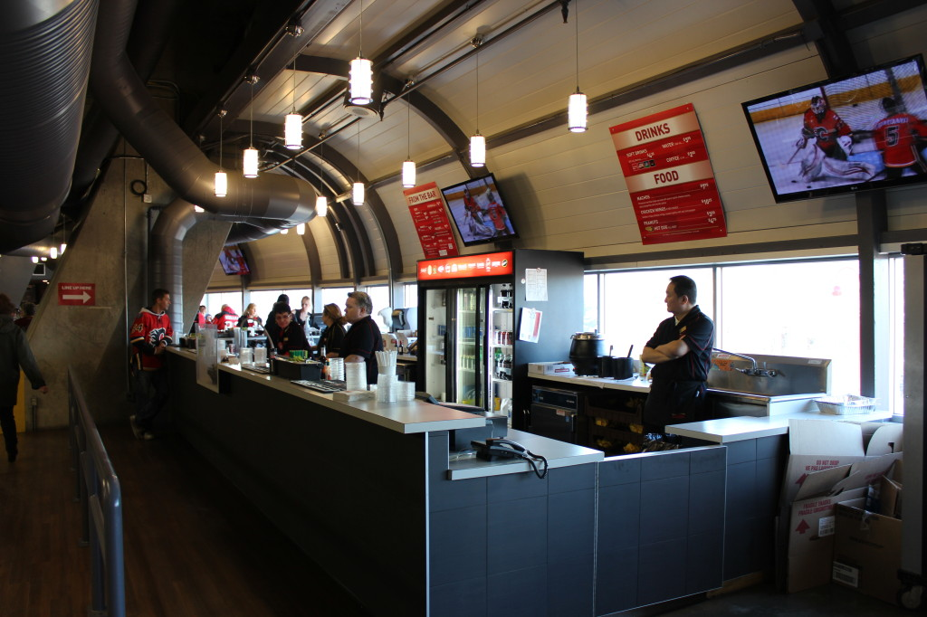 Scotiabank Concession Stand