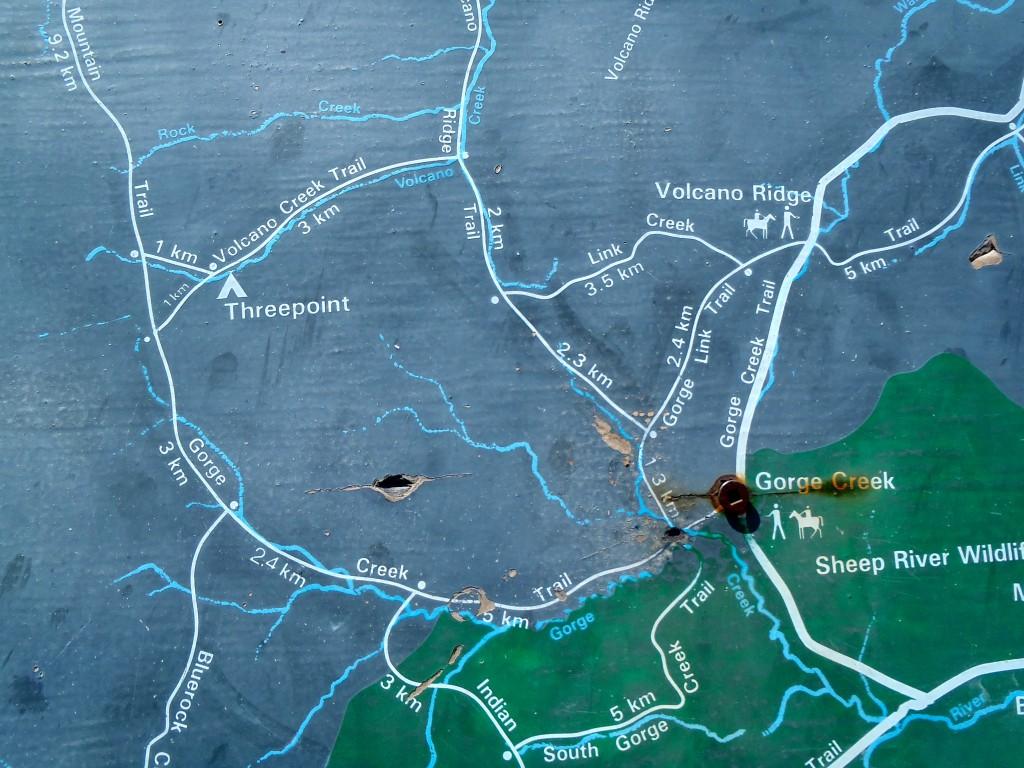 Gorge Creek Trail Map