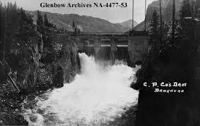 Minnewanka 1912 Dam