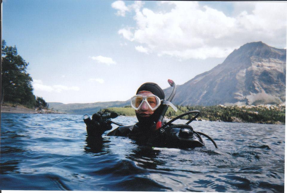 Tyler in Emerald Bay