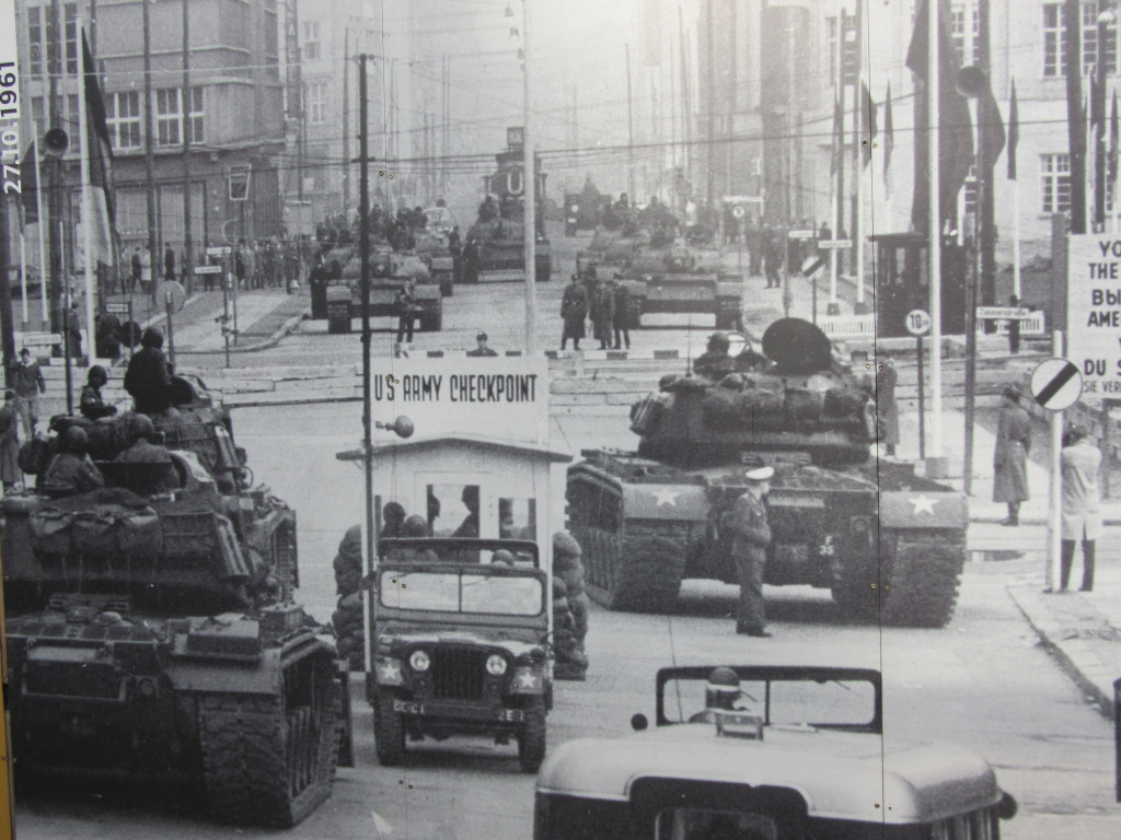 Original Checkpoint Charlie. Not Our Photo