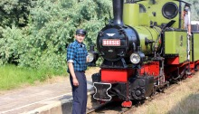 Locomotive Steam Engine