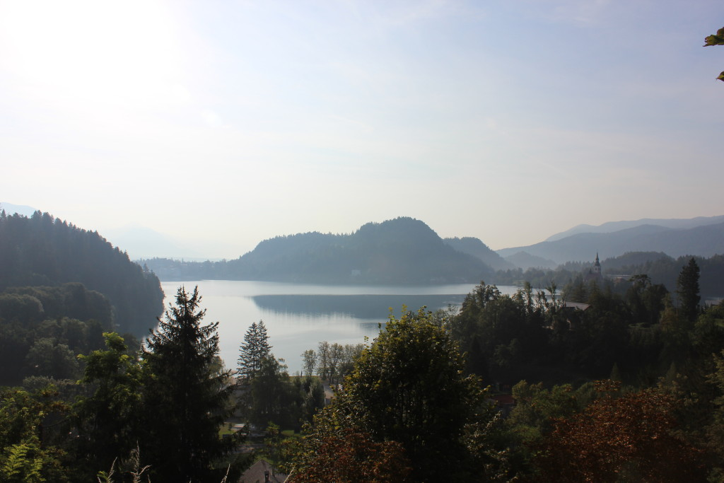 Last View of Lake Bled