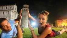 The Classic Funny Pisa Picture