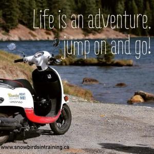 LifeIsAnAdventure.JumpOnAndGo.Quote