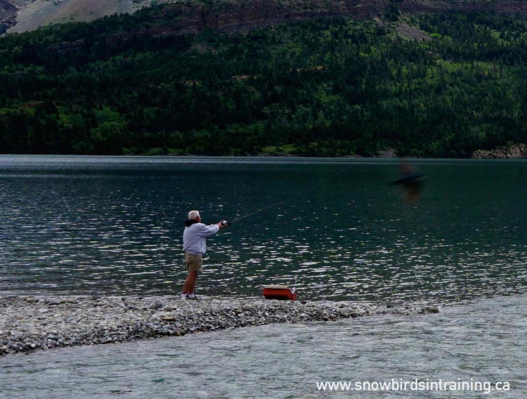 Fishing in Waterton