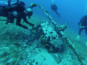 Scuba Diving Plane Engine